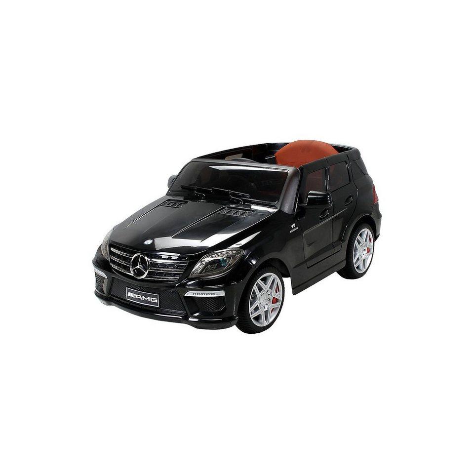 kinder elektroauto mercedes ml63 amg lizenziert schwarz online kaufen otto. Black Bedroom Furniture Sets. Home Design Ideas