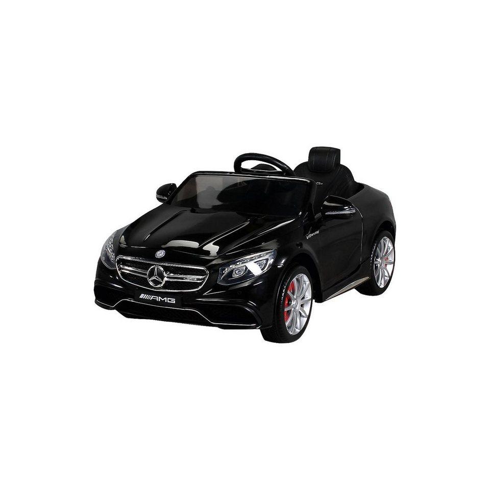 kinder elektroauto mercedes s63 amg lizenziert schwarz online kaufen otto. Black Bedroom Furniture Sets. Home Design Ideas
