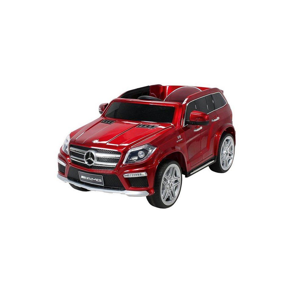 kinder elektroauto mercedes gl63 amg lizenziert rot online kaufen otto. Black Bedroom Furniture Sets. Home Design Ideas