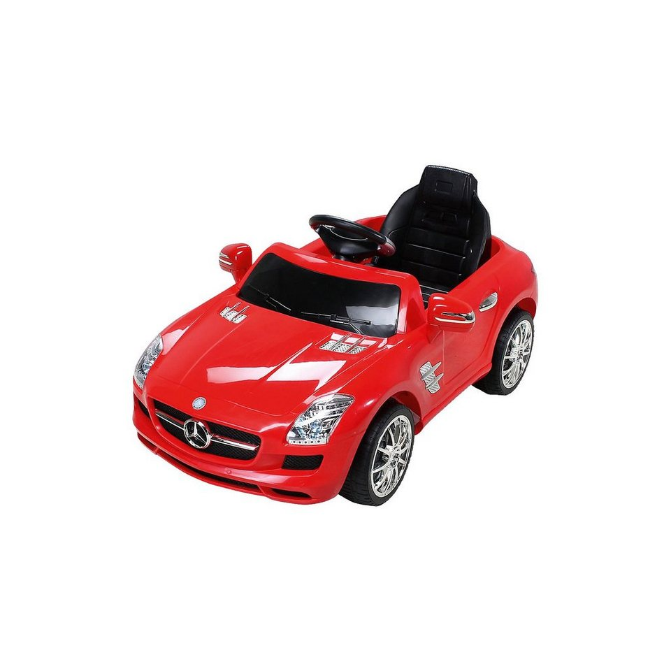 kinder elektroauto mercedes sls amg lizenziert schwarz online kaufen otto. Black Bedroom Furniture Sets. Home Design Ideas