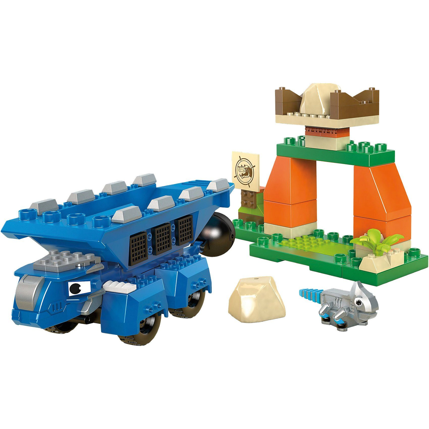 Mattel® Mega Construx Dinotrux Character & Mini Set Build