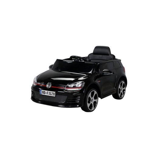 miweba Kinder Elektroauto VW Golf Lizenziert, schwarz
