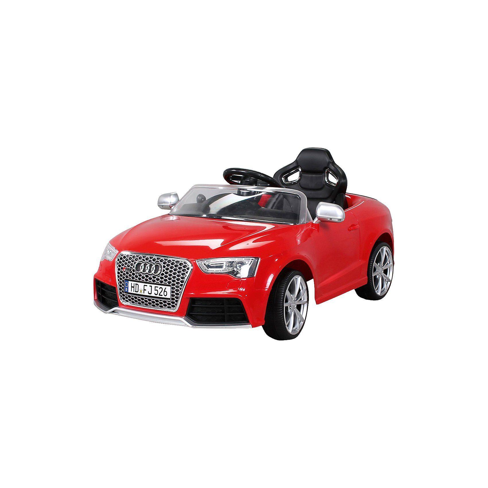 Kinder Elektroauto Audi RS5 Lizenziert, rot