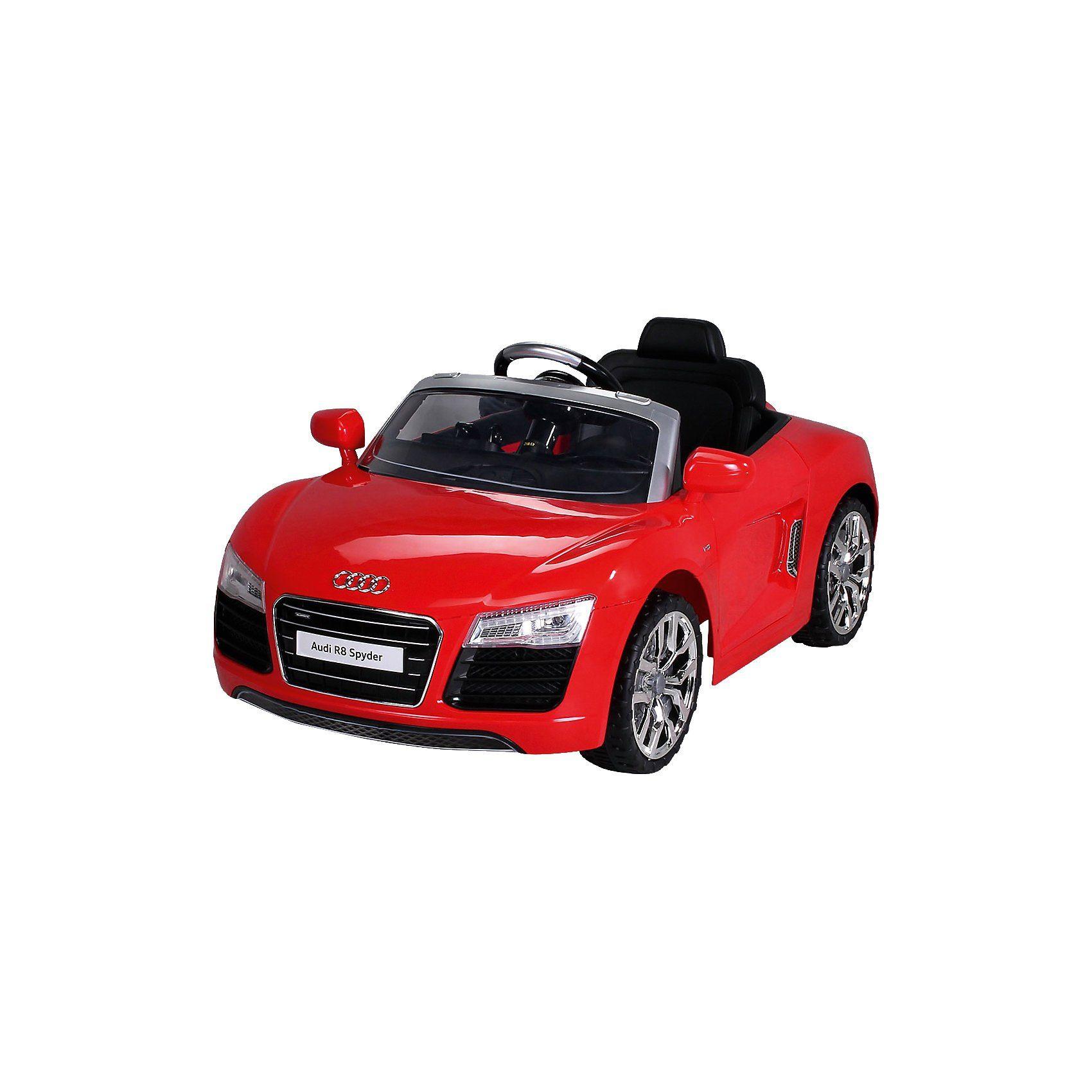 Kinder Elektroauto Audi R8 Lizenziert, rot