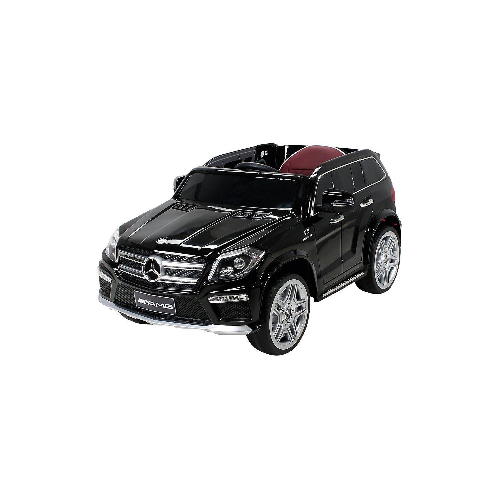 Kinder Elektroauto Mercedes GL63 AMG Lizenziert, schwarz