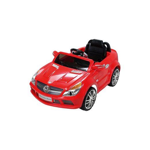 Actionbikes Motors Kinder Elektroauto Mercedes SL65 AMG Lizenziert, rot
