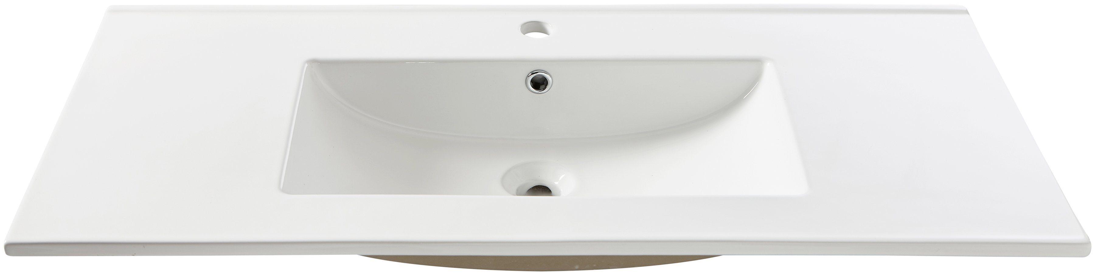Waschbecken »Trento«, Breite 101 cm, Einsatzbecken/Waschtisch   Bad > Waschbecken