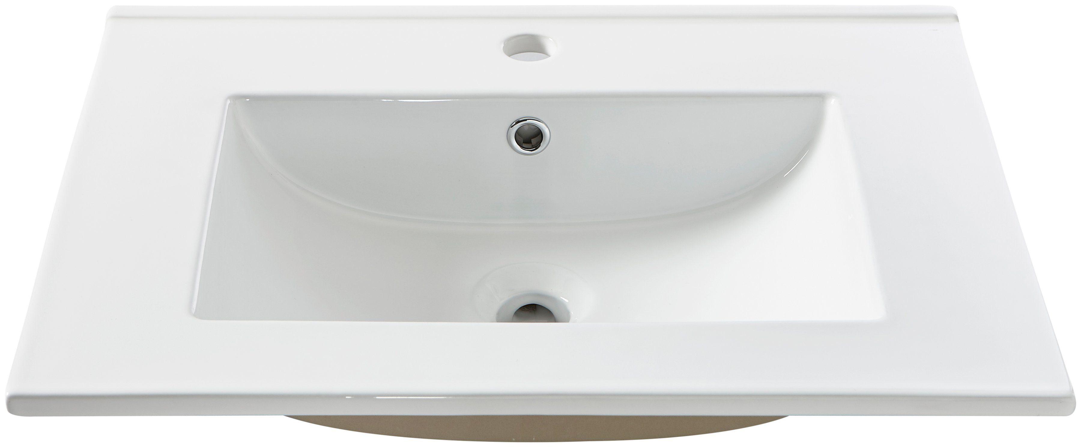 Waschbecken »Trento«, Breite 61 cm, Einsatzbecken/Waschtisch