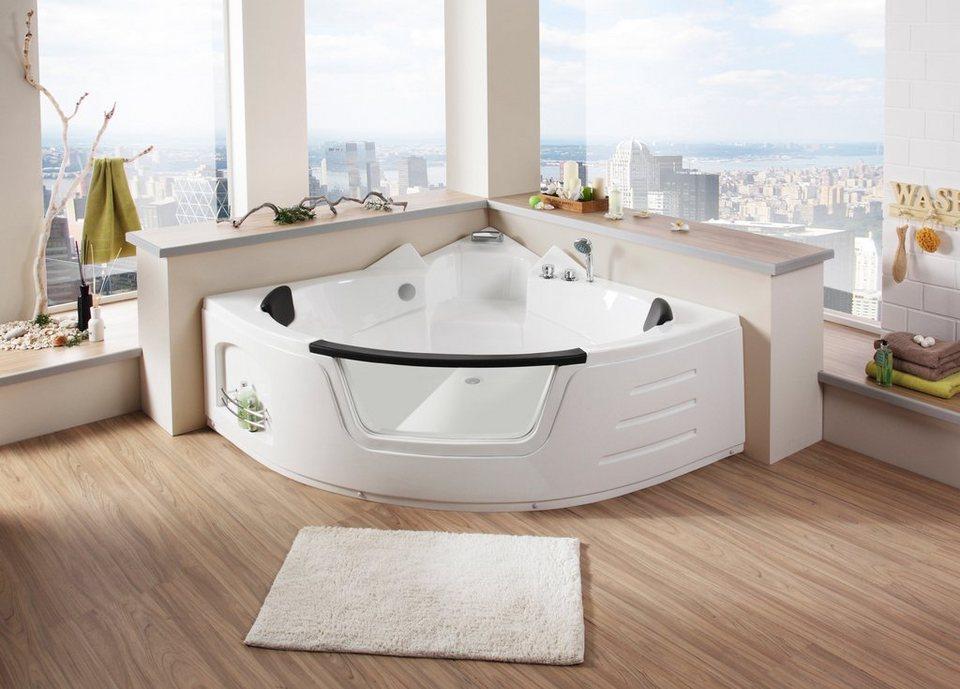 eckwanne big sun badewanne b t h in cm 157 157 66 online kaufen otto. Black Bedroom Furniture Sets. Home Design Ideas