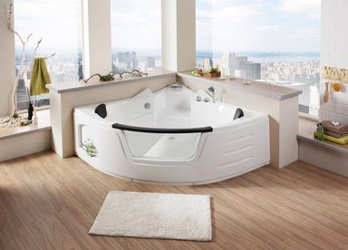 eckwanne big sun badewanne b t h in cm 157 157 66. Black Bedroom Furniture Sets. Home Design Ideas