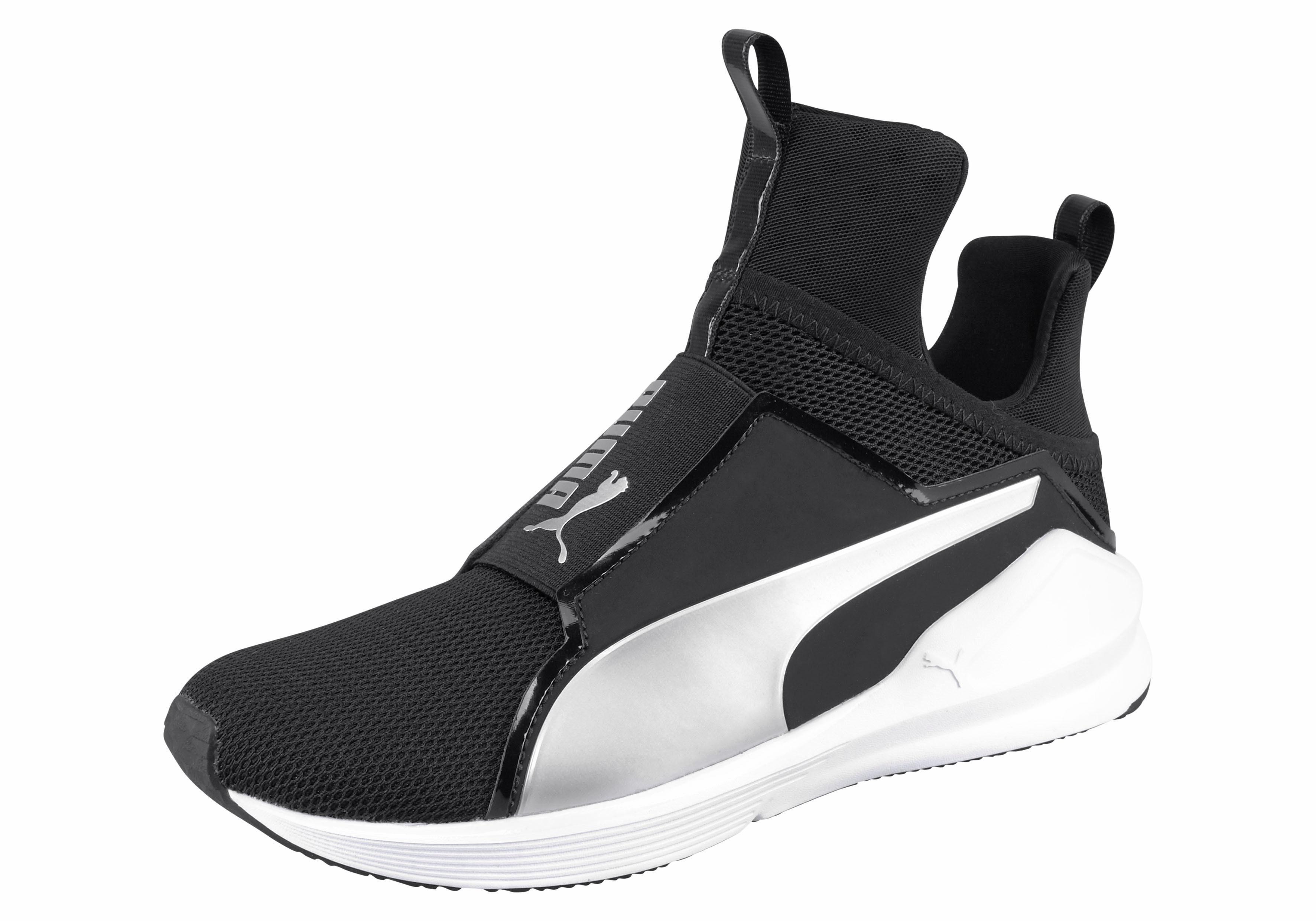 PUMA FIERCE CORE Fitnessschuh online kaufen  schwarz-silberfarben