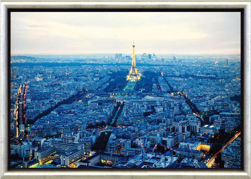 Premium Picture Bild »Paris«, Stadt, 76/56 cm, Schattenfugen