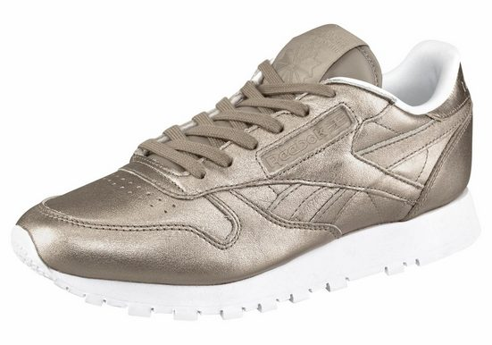 Sneaker Metal« Melted Leather Classic Reebok »classic qRvxX