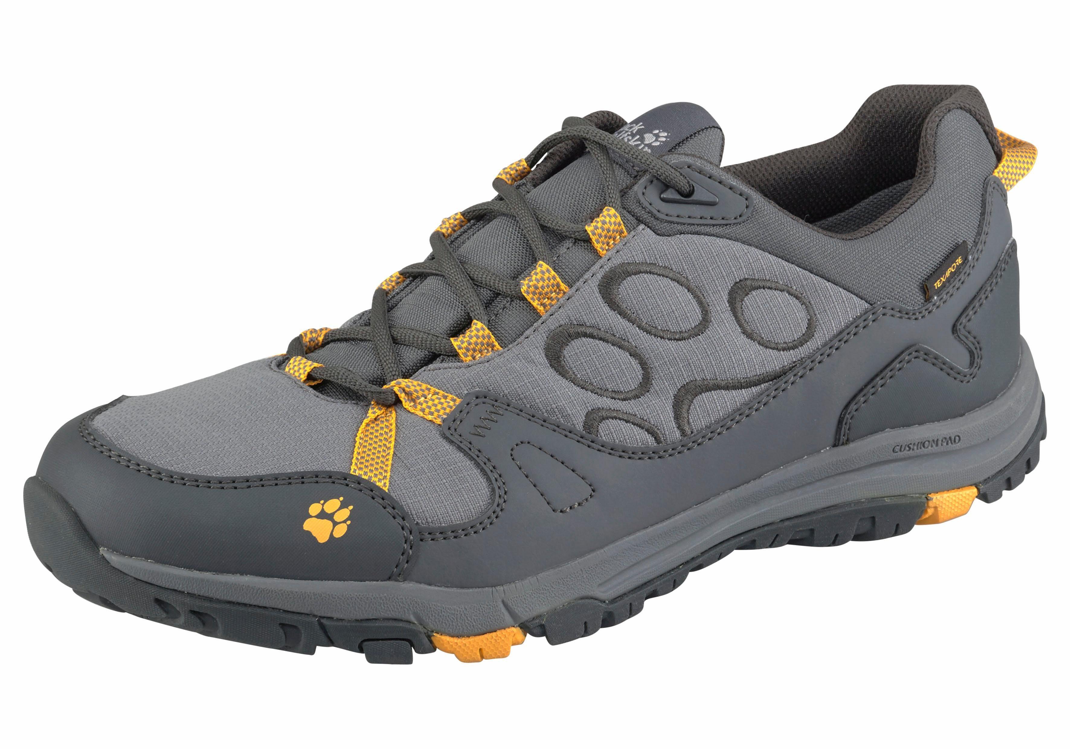 Jack Wolfskin Activate Texapore Low M Outdoorschuh online kaufen  grau-gelb