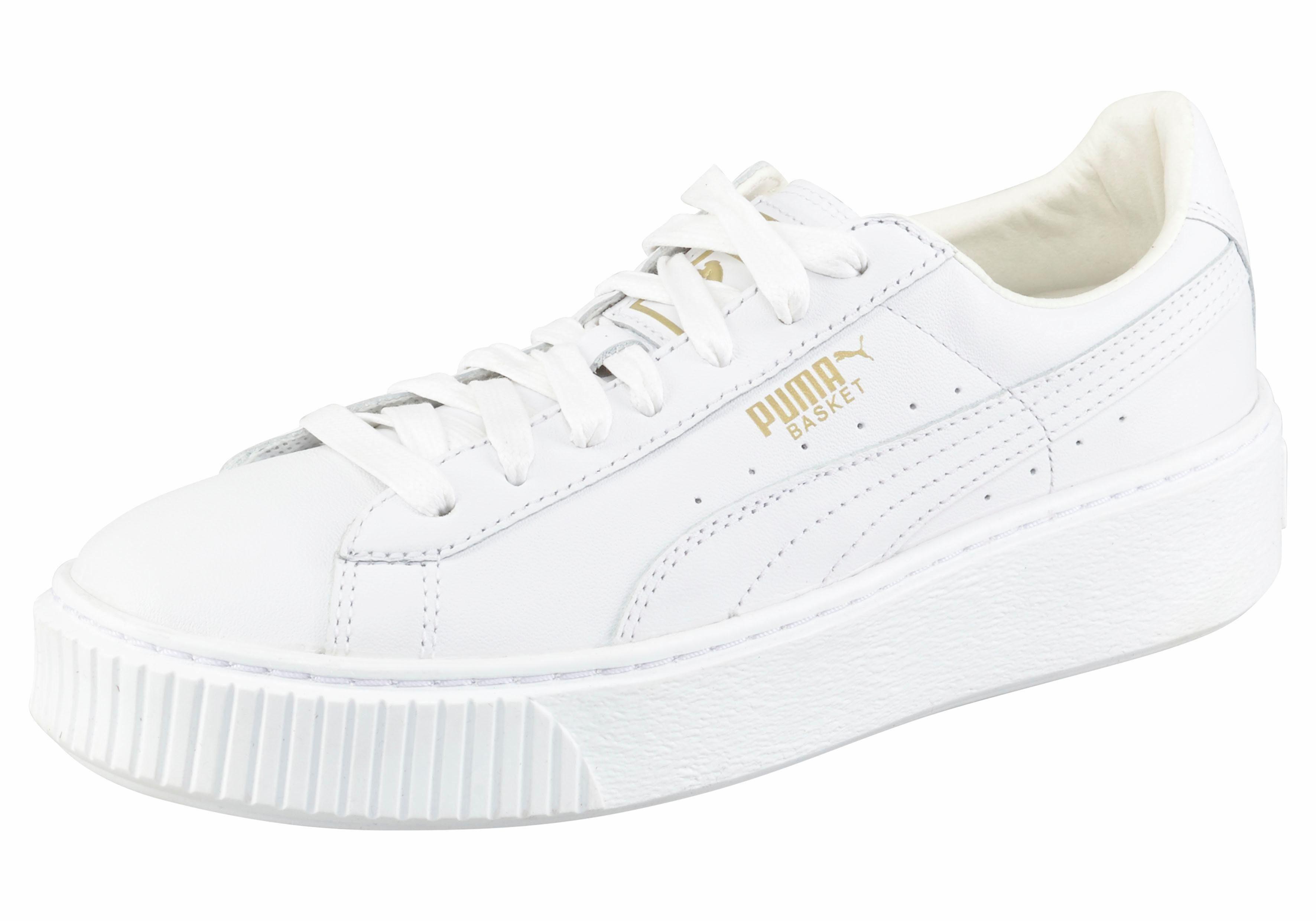 basket platform core damen sneaker puma