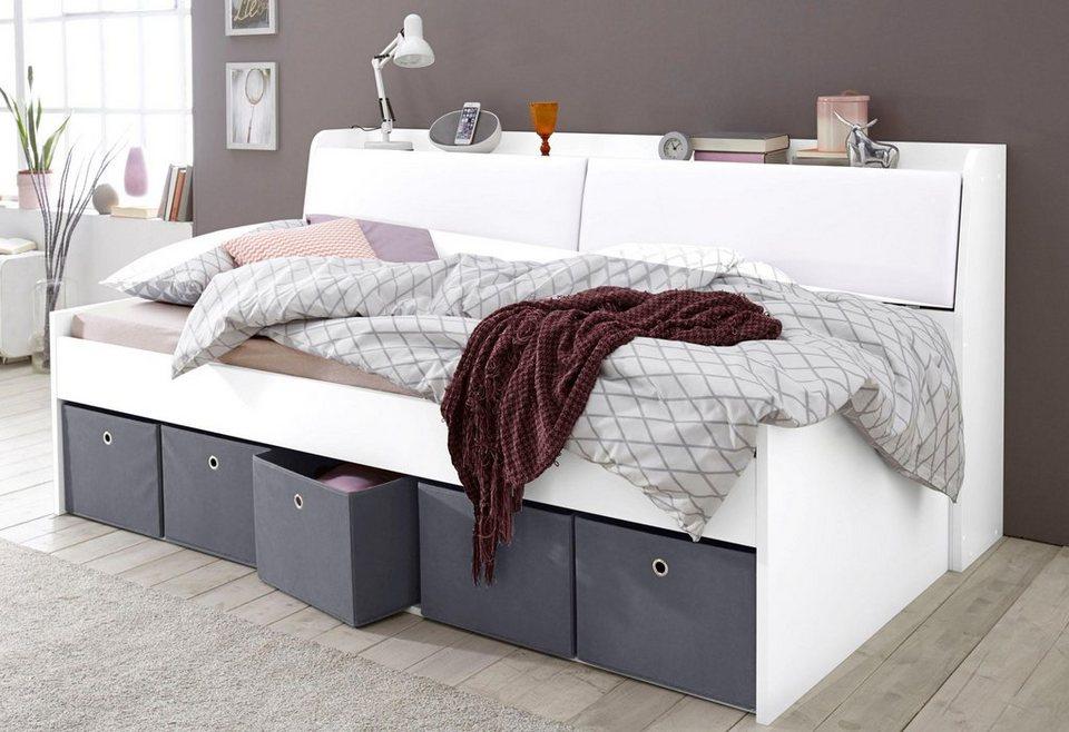 rauch pack s stauraumbett ohne kopf bzw r ckenteil. Black Bedroom Furniture Sets. Home Design Ideas