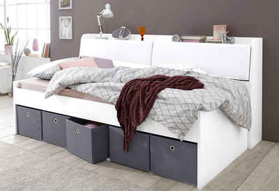 funktionsbett 90 200. Black Bedroom Furniture Sets. Home Design Ideas