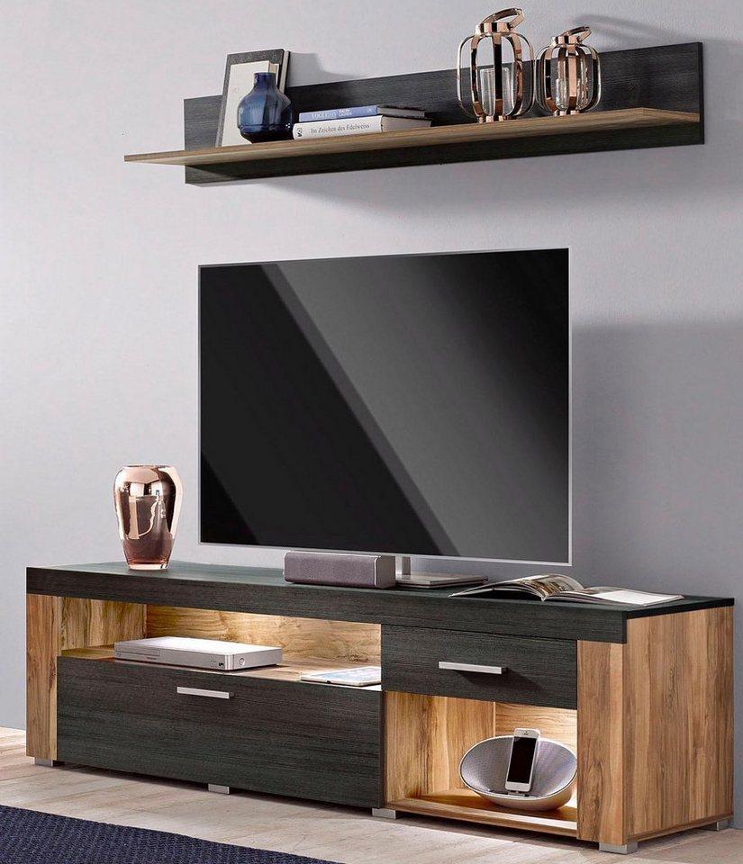 lowboard breite 160 cm online kaufen otto. Black Bedroom Furniture Sets. Home Design Ideas