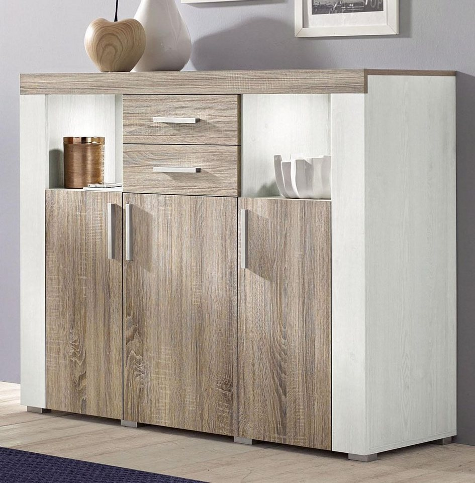 highboard breite 120 cm fsc zertifizierter holzwerkstoff online kaufen otto. Black Bedroom Furniture Sets. Home Design Ideas