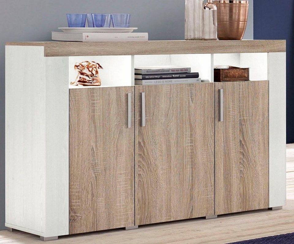 Sideboard Breite 120 Cm Fsc Zertifizierter Holzwerkstoff Online