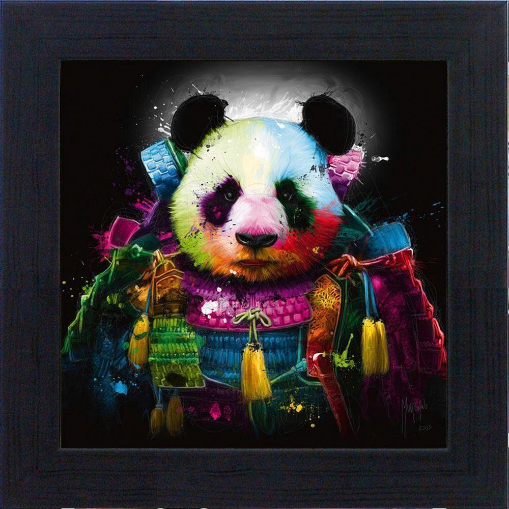 Premium Picture XXL Blockrahmen »Pandakopf«, 43/43 cm