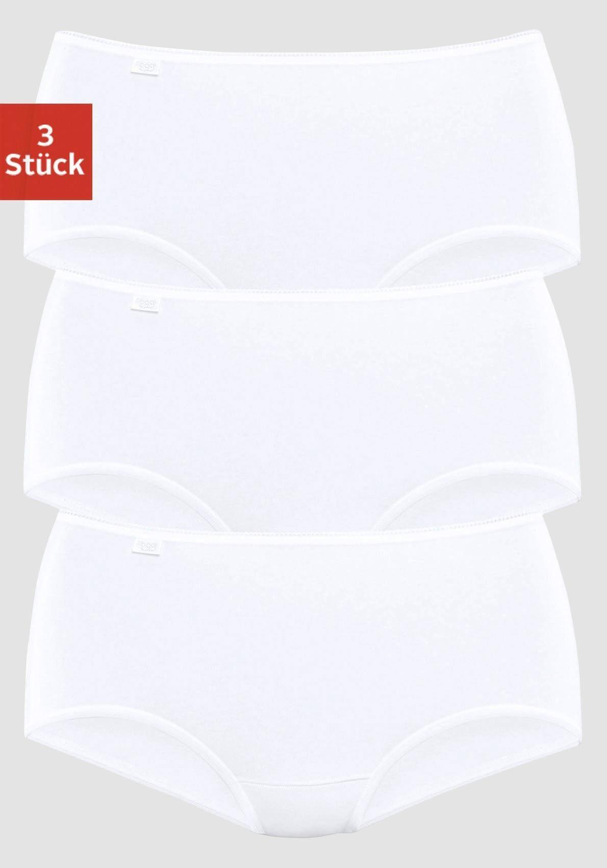 Schiesser  ESSENTIAL 2 Maxi Slip Spar-Pack 38 40 42 44 46 48 50 weiß schwarz NEU