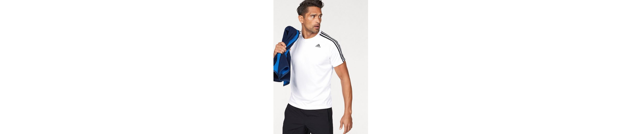 adidas Performance Funktionsshirt DESIGN TO MOVE TEE 3 STRIPES