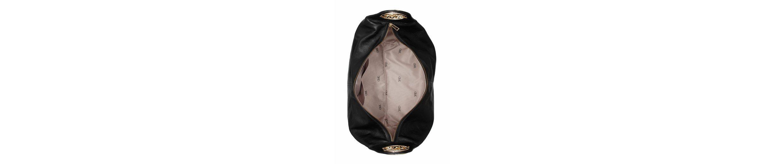 GUIDO MARIA KRETSCHMER Hobo, aus hochwertigem Leder mit Ketteneinsatz im Tragehenkel