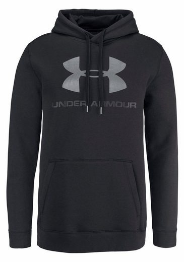 Under Armour® Kapuzensweatshirt RIVAL FITTED GRAPHIC HOODIE