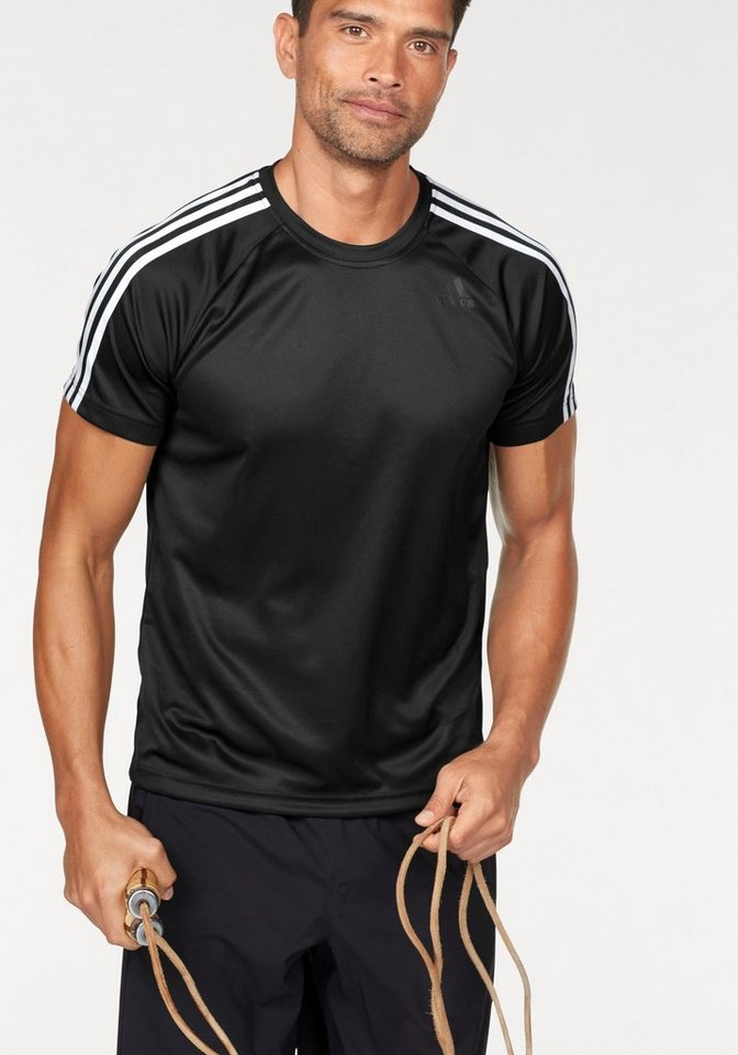 69510caef824 adidas Performance Funktionsshirt »DESIGN TO MOVE TEE 3 STRIPES ...