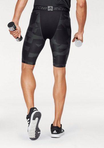 adidas Performance Funktionsshorts TECHFIT CHILL SHORT TIGHTS PRINT