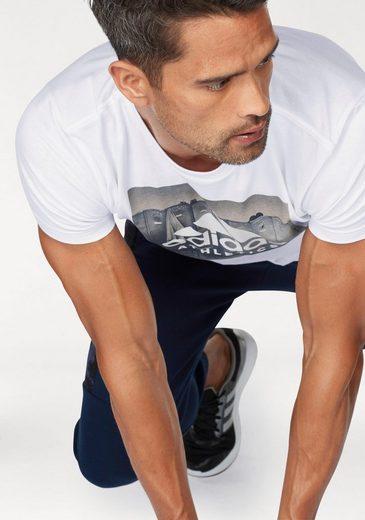 adidas Performance T-Shirt ESSENTIALS CATEGORY REGULAR TEE