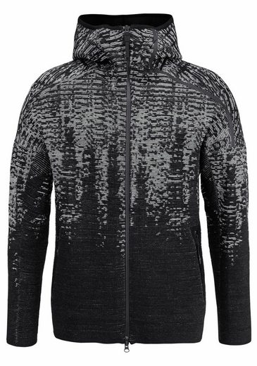 Adidas Performance Function-hooded Sweat Jacket Zne Pulse Kn Hd
