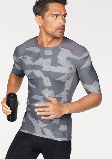 adidas Performance Funktionsshirt TECHFIT CHILL SHORT SLEEVE TEE PRINT
