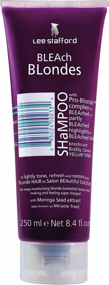 lee stafford bleach blondes shampoo haarshampoo online. Black Bedroom Furniture Sets. Home Design Ideas