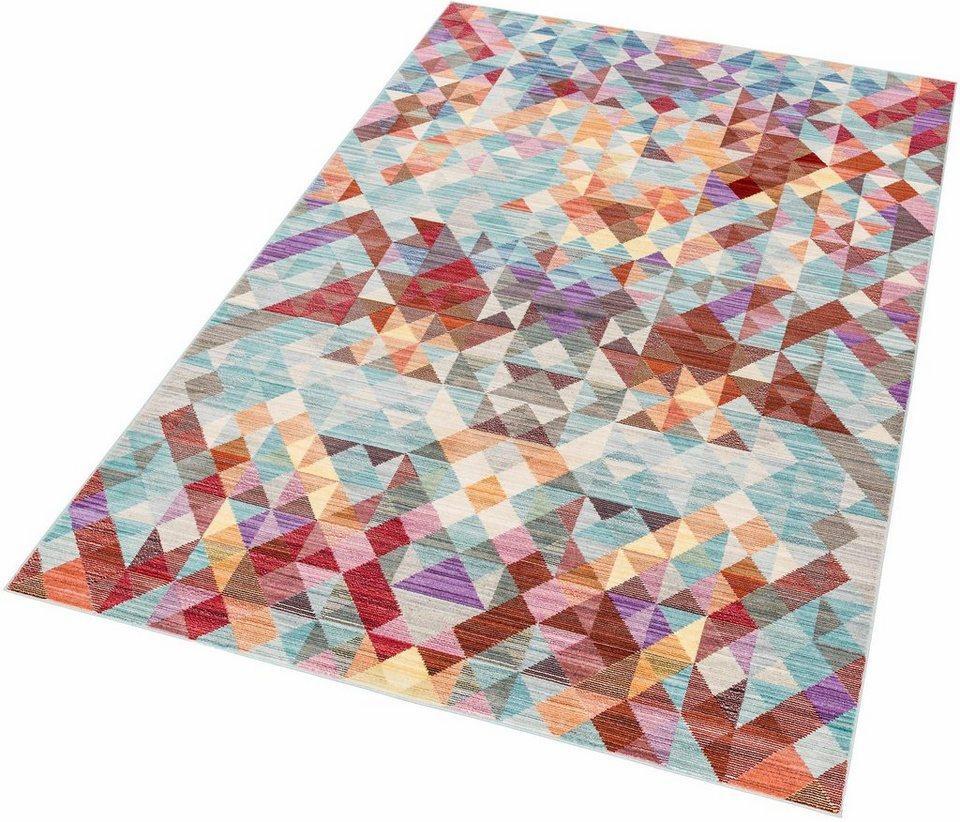 teppich »shining 1«, schÖner wohnen-kollektion, rechteckig, höhe 5