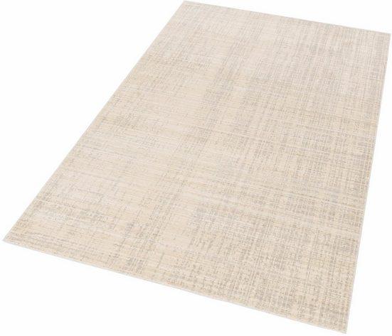Teppich »Shining 10«, SCHÖNER WOHNEN-Kollektion, rechteckig, Höhe 5 mm, Besonders weich durch Microfaser