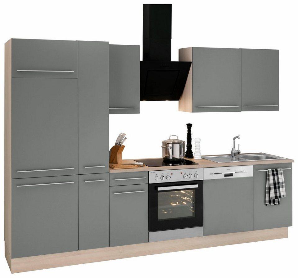 optifit k chenzeile mit e ger ten bern breite 300 cm online kaufen otto. Black Bedroom Furniture Sets. Home Design Ideas