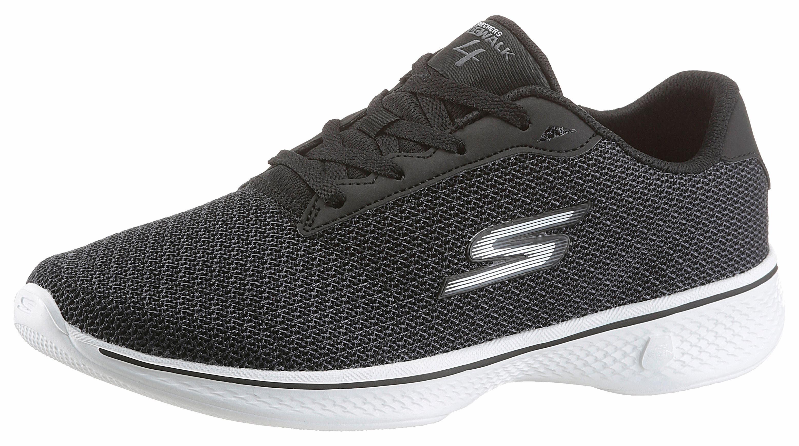 SKECHERS PERFORMANCE Go Walk 4 Glorify Sneaker, mit Goga Max-Technology online kaufen  schwarz