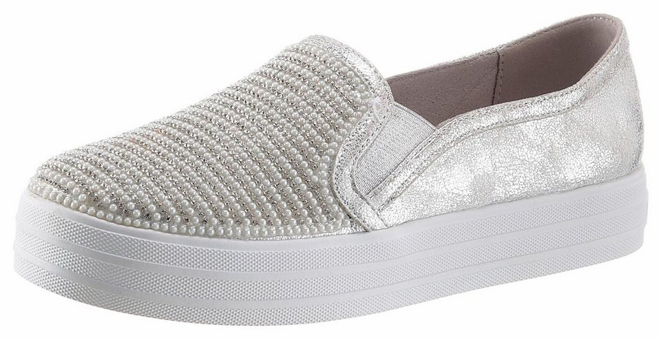 skechers douple up shiny dancer slipper mit memory foam online kaufen otto. Black Bedroom Furniture Sets. Home Design Ideas