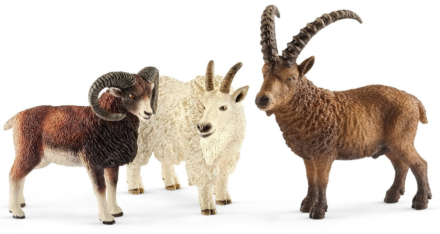 Schleich® Spielfiguren Set (41459), »Wild Life, Gebirgstiere«