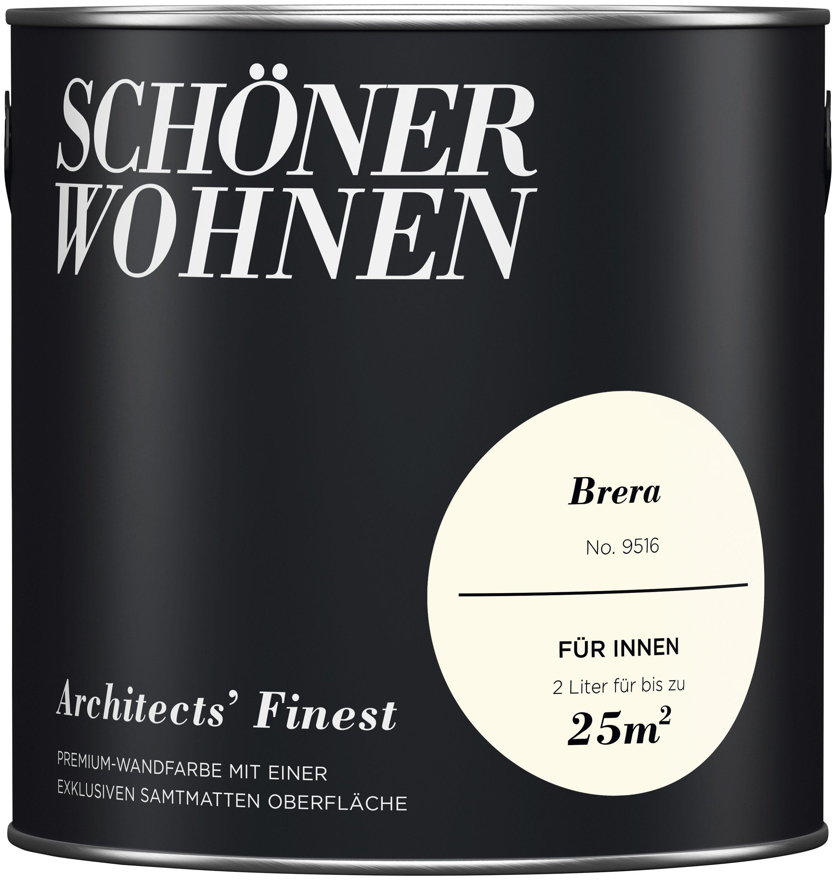 SCHÖNER WOHNEN-FARBE Wand- und Deckenfarbe »Architects' Finest«, Brera