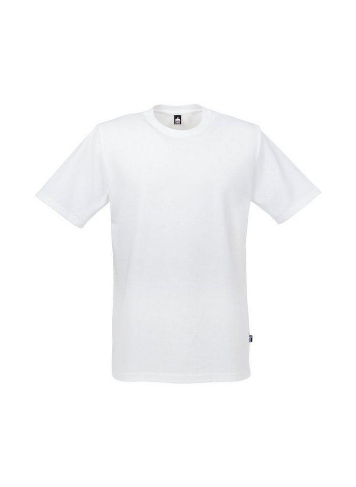 TRIGEMA T-Shirt Piqué-Qualität in weiss