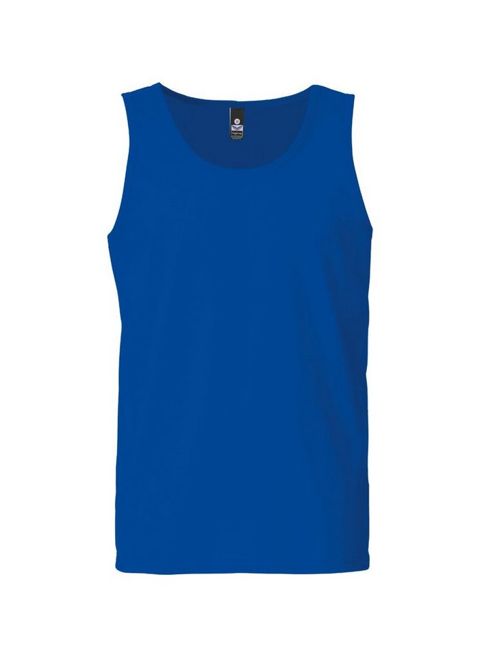 TRIGEMA Träger-Shirt 100% Baumwolle in royal