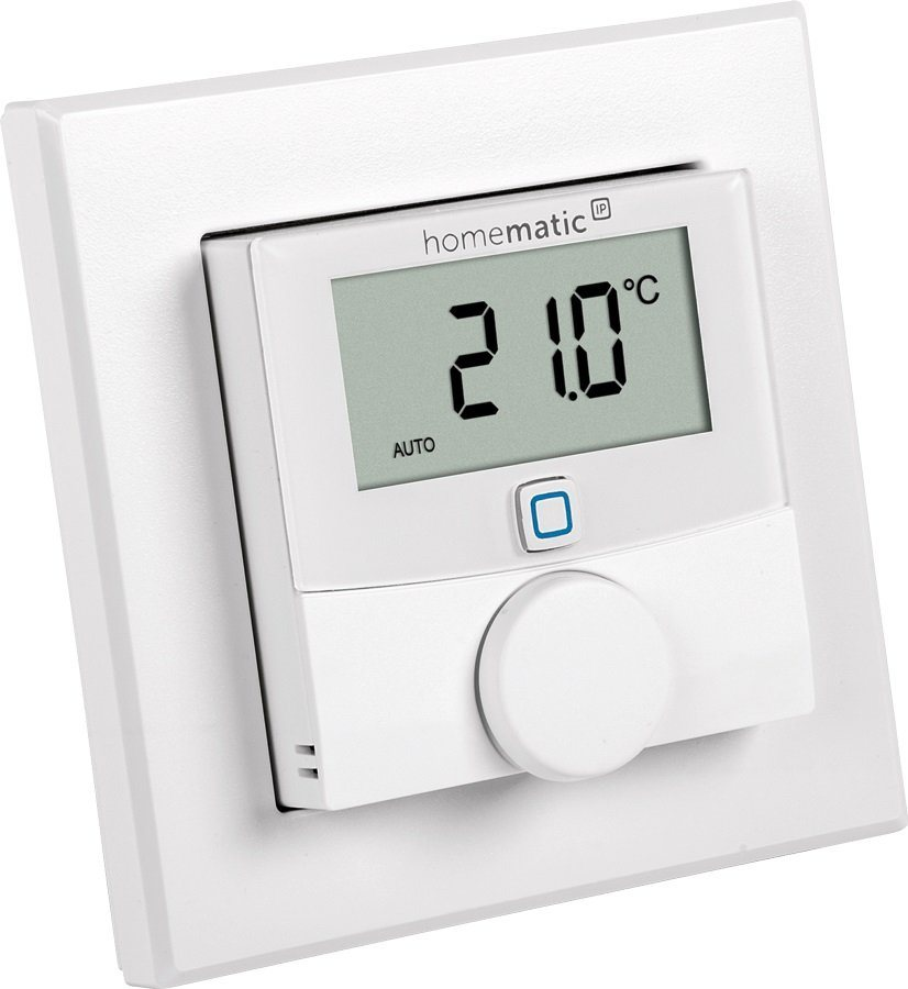 Homematic IP Smart Home - Raumklima »Wandthermostat & Luftfeuchtesensor - HmIP-WTH-2« in weiss