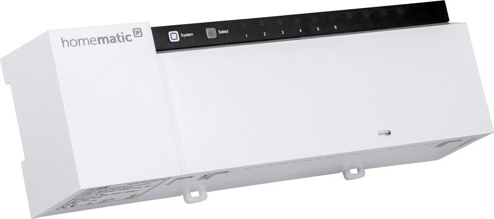 Homematic IP Smart Home - Raumklima & Komfort »Fußbodenheizungsaktor - 6-fach - HmIP-FAL230-C6«