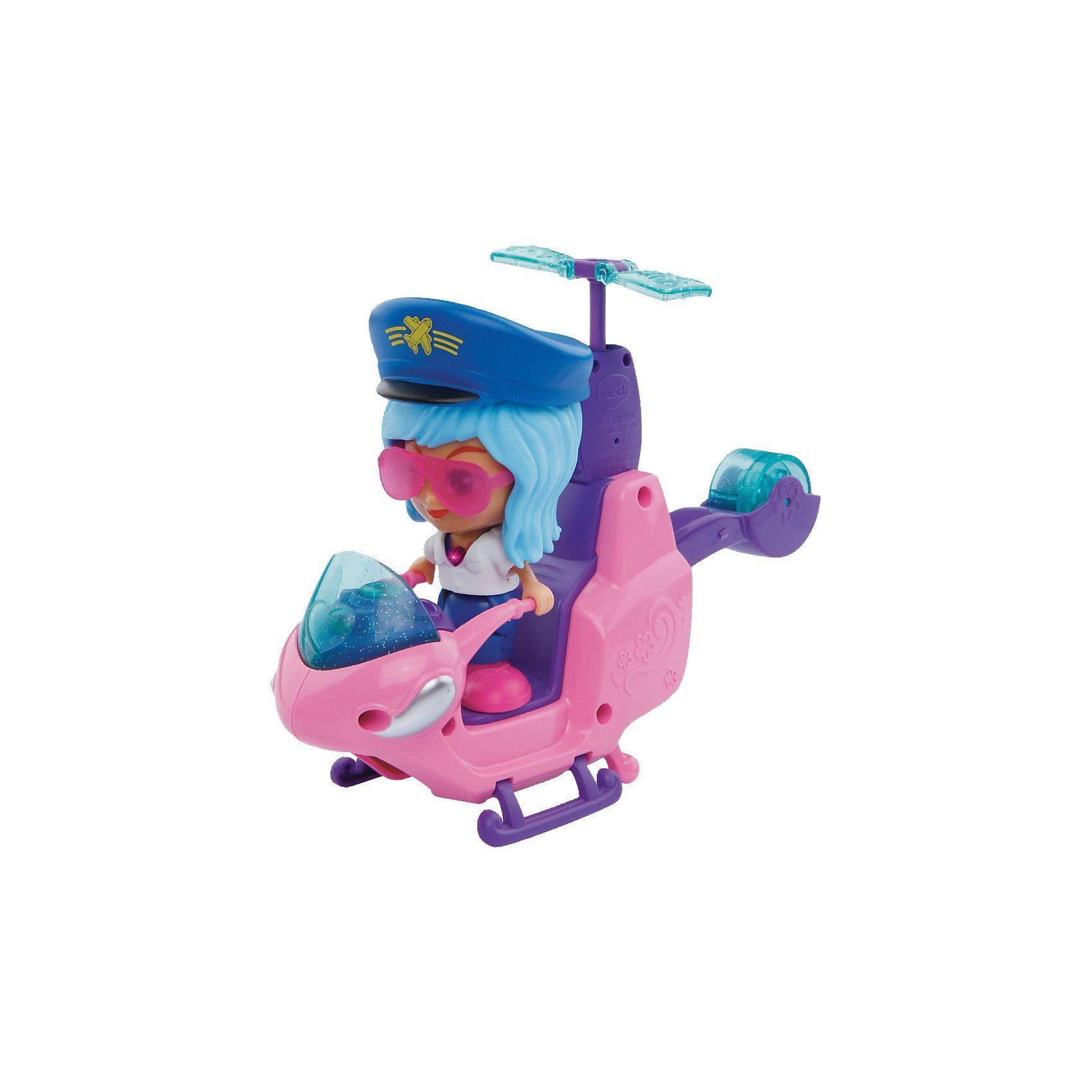 Vtech Flipsies - Skylars Helikopter & Motorrad