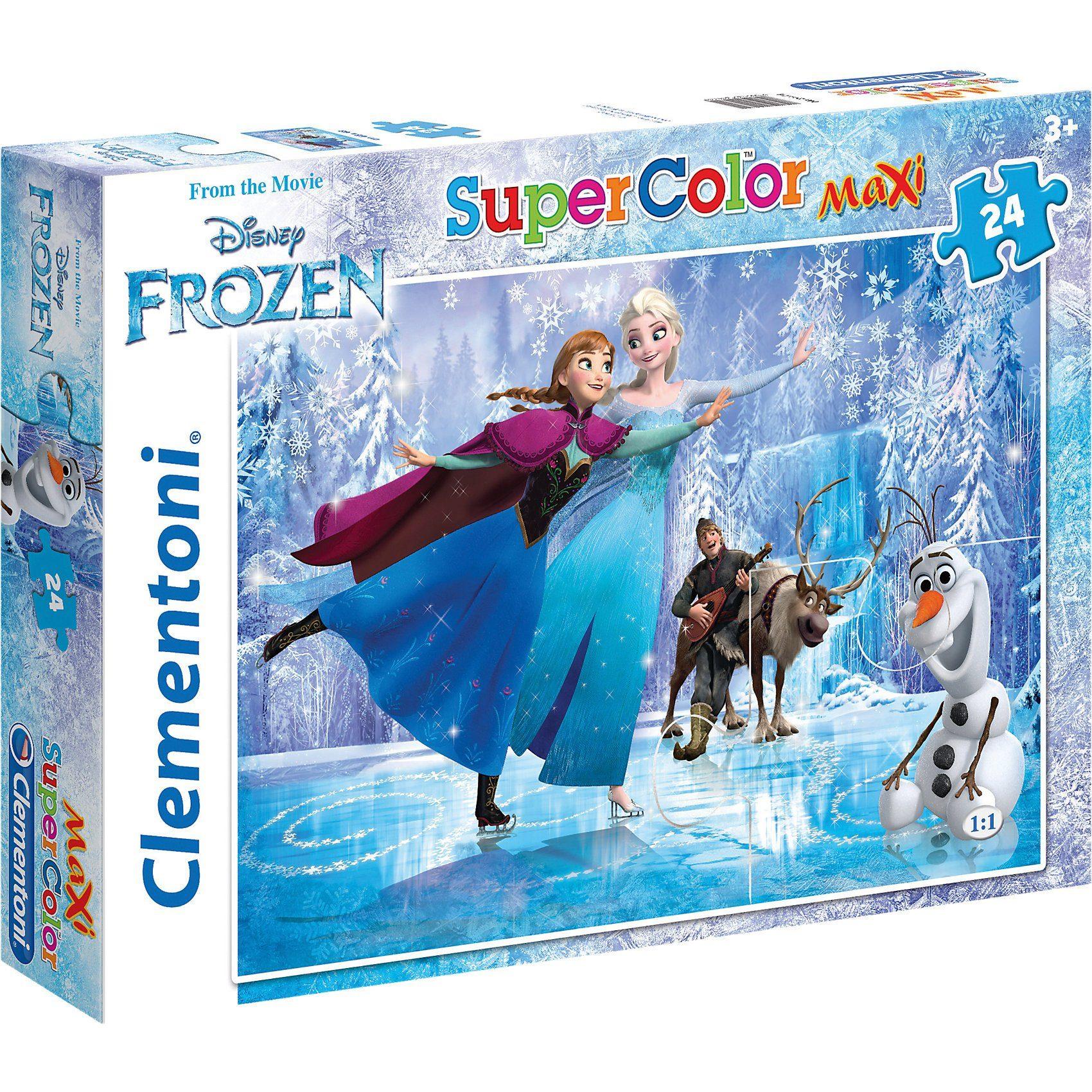Clementoni Maxi Puzzle 24 Teile - Eiskönigin