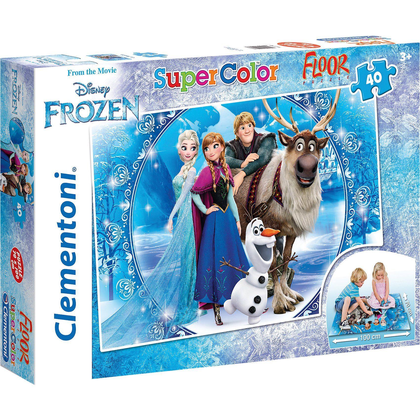 Clementoni Bodenpuzzle 40 Teile - Eiskönigin
