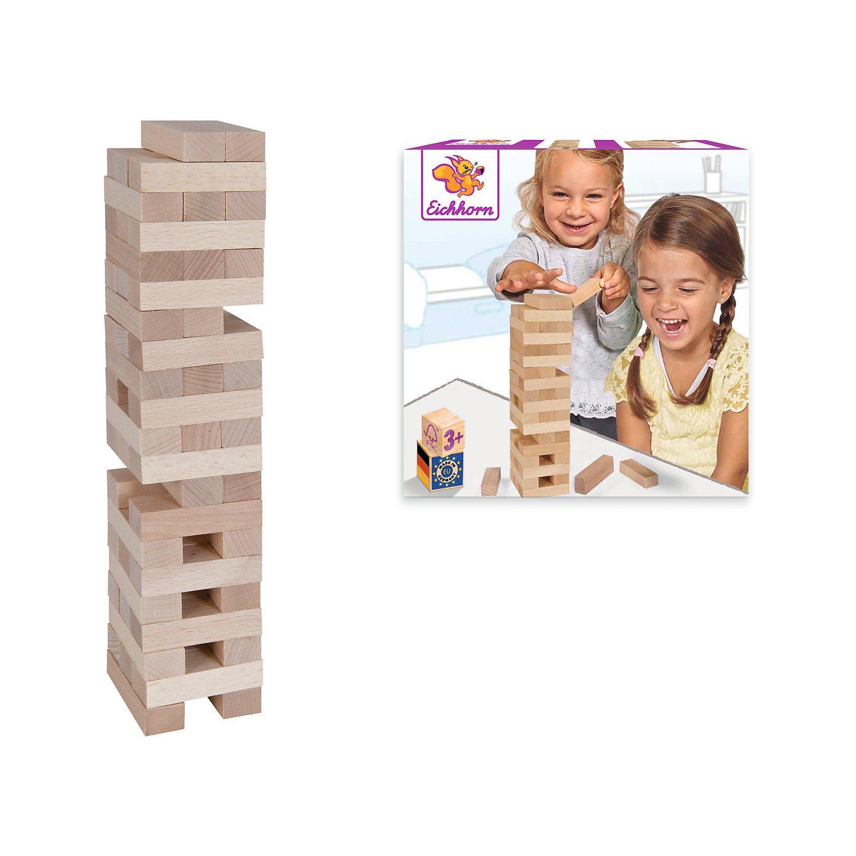 Heros Stapelspiel Holzturm